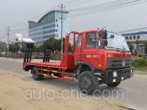 程力威牌CLW5164TPBT4型平板运输车