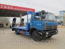 程力威牌CLW5165TPBT4型平板运输车