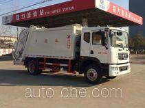 程力威牌CLW5165ZYSD5型压缩式垃圾车
