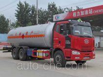 程力威牌CLW5240GYQC4型液化气体运输车