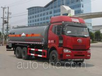 Chengliwei CLW5250GFWC4 corrosive substance transport tank truck