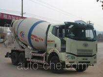 程力威牌CLW5250GJBC4型混凝土搅拌运输车