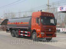 Chengliwei CLW5250GRYZ4 flammable liquid tank truck