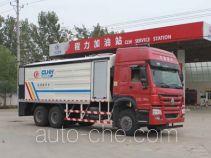程力威牌CLW5250TFSZ4型粉料撒布车