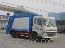程力威牌CLW5250ZYST4型压缩式垃圾车