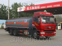 Chengliwei CLW5252GFWC4 corrosive substance transport tank truck