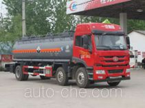 Chengliwei CLW5256GFWC4 corrosive substance transport tank truck
