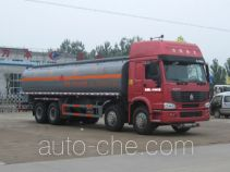 Chengliwei CLW5310GHYZ3 chemical liquid tank truck
