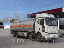 程力威牌CLW5310GRYLC5型铝合金易燃液体罐式运输车