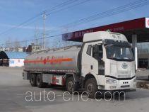 Chengliwei aluminium flammable liquid tank truck