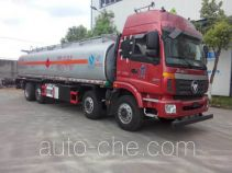 程力威牌CLW5310GYYLB5型铝合金运油车