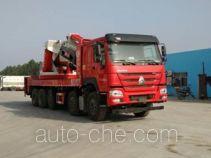 程力威牌CLW5500JQZZ6型汽车起重机