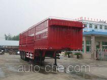 程力威牌CLW9280CCY型仓栅式运输半挂车