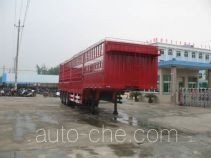 程力威牌CLW9280CXY型仓栅式运输半挂车