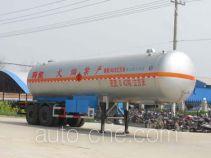 Chengliwei CLW9310GYQ liquefied gas tank trailer