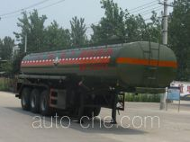 Chengliwei CLW9400GFW corrosive materials transport tank trailer