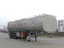 程力威牌CLW9400GNY型鲜奶运输半挂车