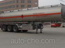 程力威牌CLW9400GRYLVI型铝合金易燃液体罐式运输半挂车