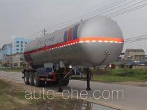程力威牌CLW9400GYQB型液化气体运输半挂车