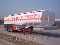 程力威牌CLW9400GYY型运油半挂车