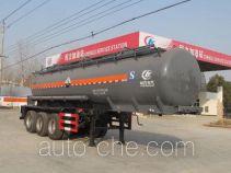 Chengliwei CLW9401GFWB corrosive materials transport tank trailer