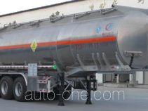 程力威牌CLW9401GYWL型氧化性物品罐式运输半挂车