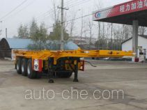 Chengliwei CLW9401TWY dangerous goods tank container skeletal trailer