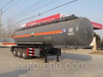 Chengliwei CLW9402GFWB corrosive materials transport tank trailer