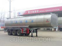 程力威牌CLW9402GNY型鲜奶运输半挂车