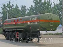 程力威牌CLW9402GRYA型易燃液体罐式运输半挂车