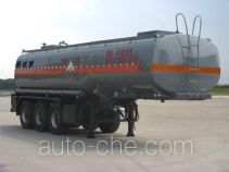 Chengliwei CLW9403GFW corrosive materials transport tank trailer