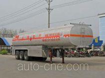 程力威牌CLW9403GHY型化工液体运输半挂车