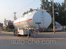 程力威牌CLW9403GRYA型铝合金易燃液体罐式运输半挂车