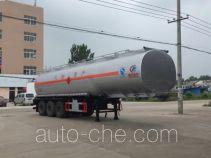 程力威牌CLW9403GYYA型运油半挂车