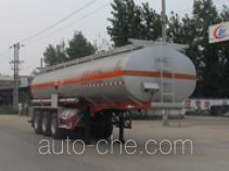 Chengliwei CLW9404GFW corrosive materials transport tank trailer