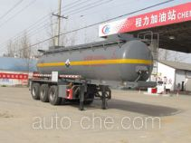 Chengliwei CLW9404GFWB corrosive materials transport tank trailer