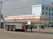Chengliwei CLW9404GHY chemical liquid tank trailer