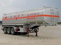 程力威牌CLW9404GRY型易燃液体罐式运输半挂车