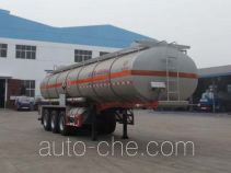 Chengliwei CLW9406GFW corrosive materials transport tank trailer