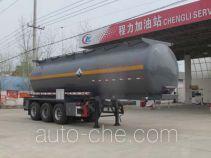 Chengliwei CLW9406GFWB corrosive materials transport tank trailer