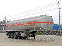 Chengliwei CLW9406GHY chemical liquid tank trailer