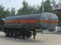 Chengliwei CLW9406GRY flammable liquid tank trailer