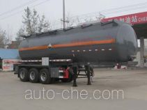 Chengliwei CLW9407GFW corrosive materials transport tank trailer