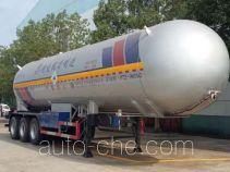 程力威牌CLW9407GYQB型液化气体运输半挂车