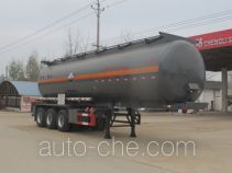 Chengliwei CLW9409GFW corrosive materials transport tank trailer