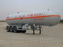 Chengliwei CLW9409GYQ liquefied gas tank trailer