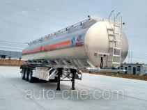 Chengliwei CLW9409GYYLV aluminium oil tank trailer