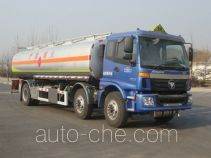 CIMC Lingyu CLY5251GRY flammable liquid tank truck