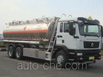 凌宇牌CLY5260GYY型铝合金运油车
