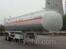 凌宇牌CLY9340GRY型易燃液体罐式运输半挂车
